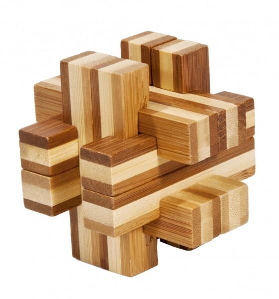 "Bambuspuzzle ""Balken Konstrukt"""