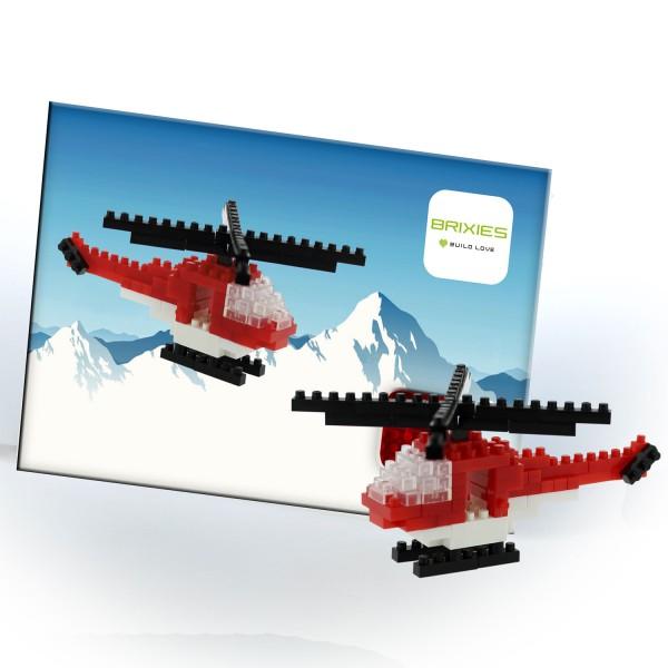 Brixies Postkarte Helikopter