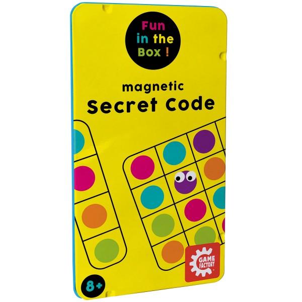 Magnetic Travel Game Secret Code