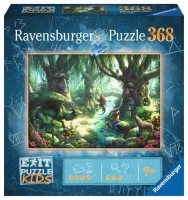 Exit Puzzle Kinder: Der magische Wald (368 Teile)