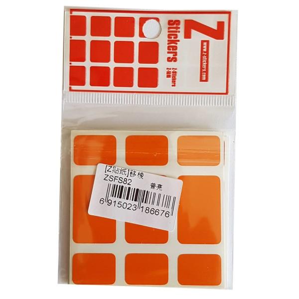 Z-Stickers für Fisher Cube