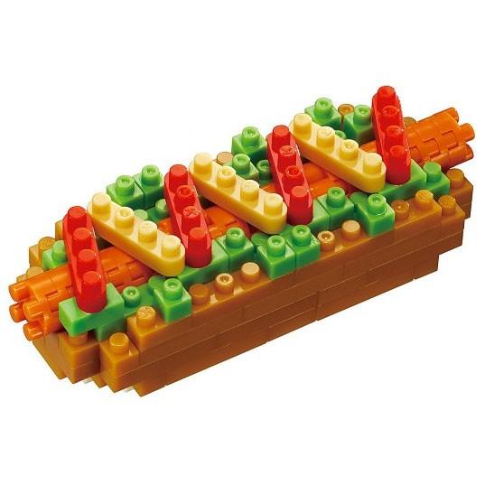 Nanoblock: Hotdog