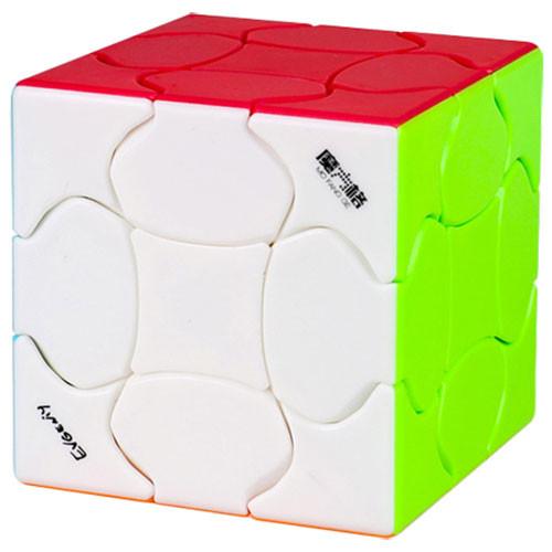 QiYi Fluffy 3x3 Stickerless Cube