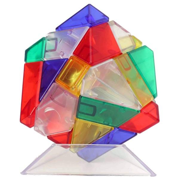 Ninja 3x3 Ghost Cube mehrfarbig transparent