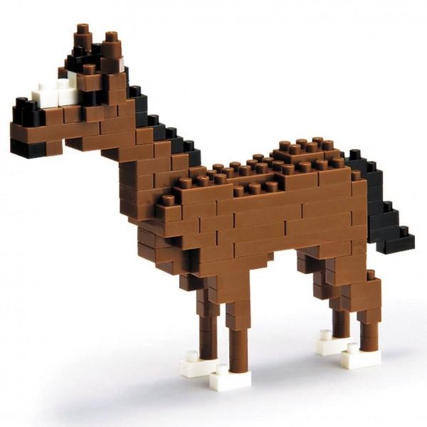 Nanoblock: Pferd