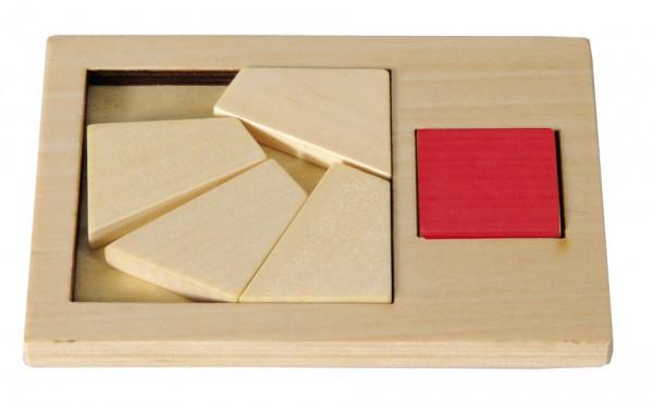 Extra Piece Quadrat groß