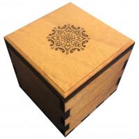 Secret Stash Lock Box (Mahagoni)