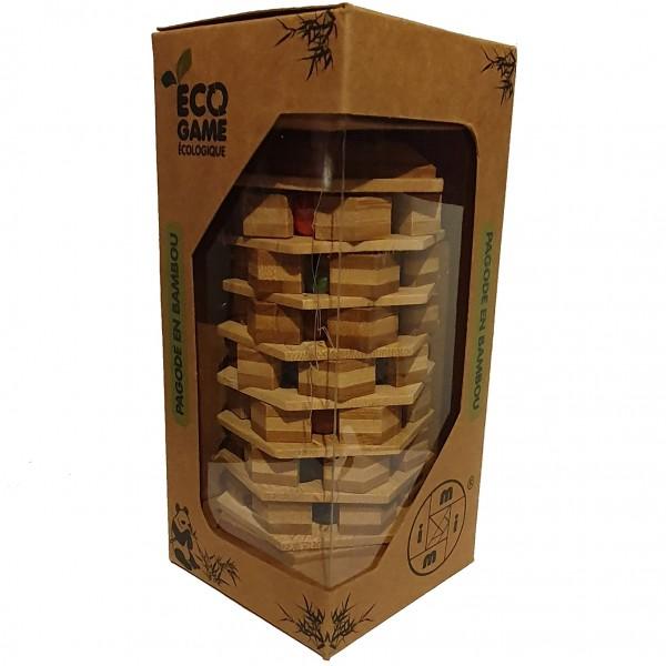 Eco Game Pagode en Bambou