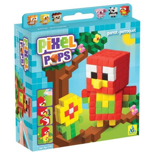 Pixel Pops: Parrot (Papagei)