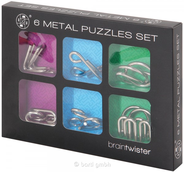 Metal Puzzle Set (6)