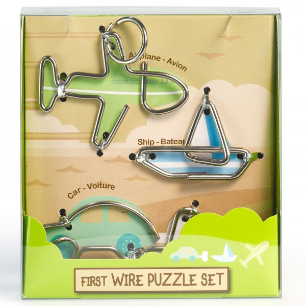 "First Wire Puzzle Set ""Transport"""