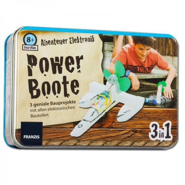 Smart Kids Metall-Box: Powerboote