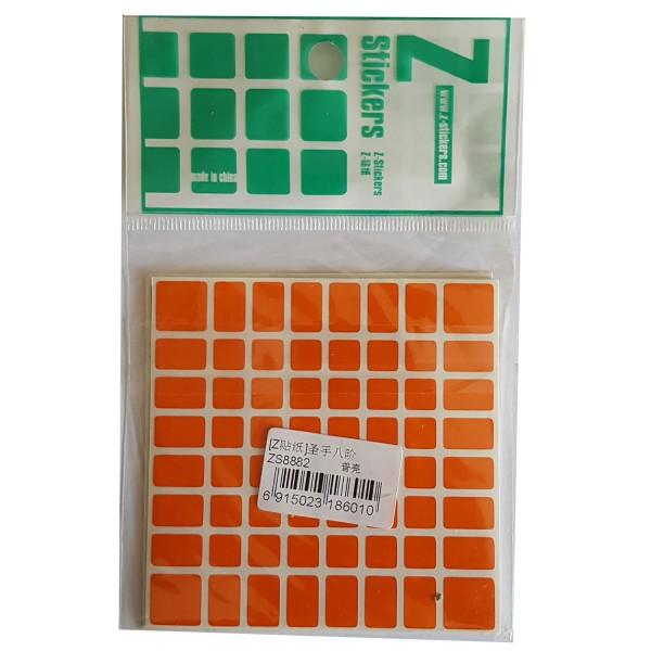 Z-Stickers für ShengShou 8x8x8