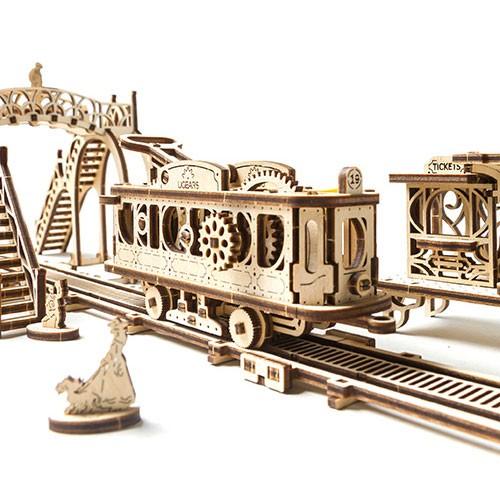 Ugears Tram Line (Mechanical Town Series)