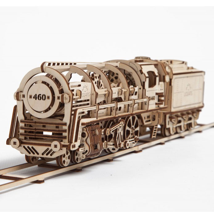 Ugears Mechanical Models: Eisenbahn
