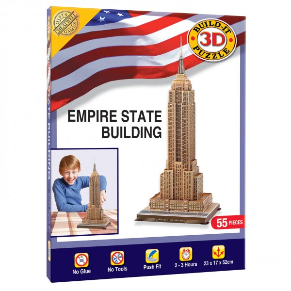 Cheatwell Build-It 3D: Empire State Building