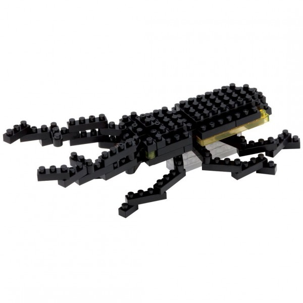 Nanoblock: Giraffe Stag Beetle (Hirschkäfer)