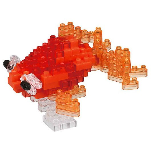 Nanoblock: Popeyed Goldfish rot