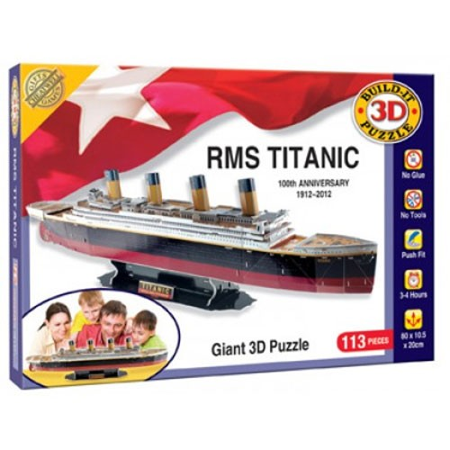 Cheatwell Build-It 3D: RMS Titanic