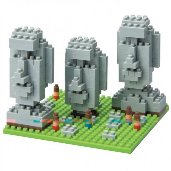 Nanoblock: Moai Statues on Easter Island