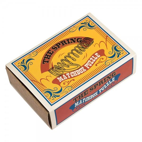 Matchbox Puzzle Die Sprungfeder