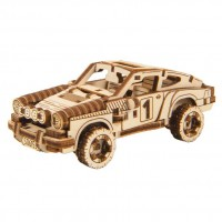 Wooden City Superfast: Rally Car 4 (Sports Car)