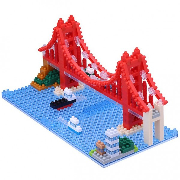 Nanoblock: Golden Gate Bridge