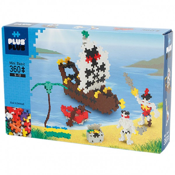 Plus-Plus Mini Basic: Piraten - 360 Bausteine
