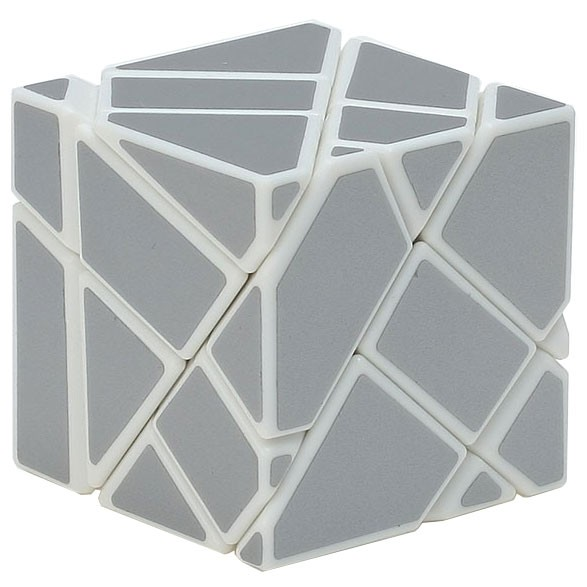 Ninja 3x3 Ghost Cube weiß (unstickered)