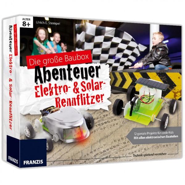 Franzis: Baubox Elektro -& Solar- Rennflitzer