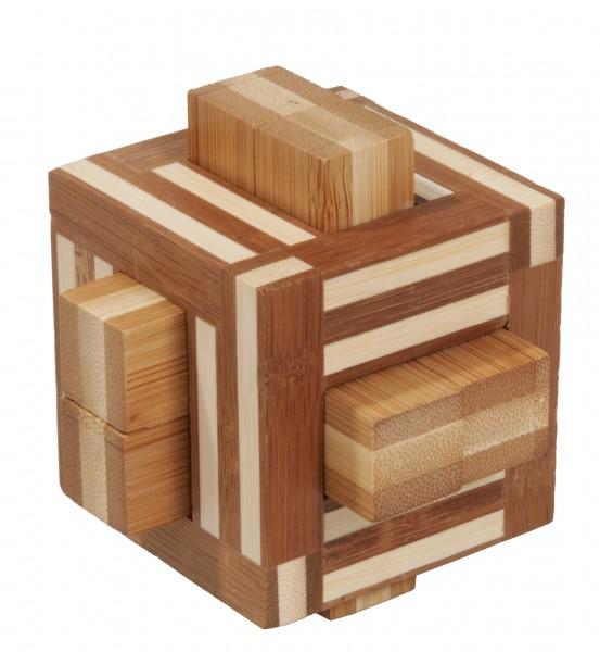 """Bambuspuzzle """"Doppelstäbe"""""""