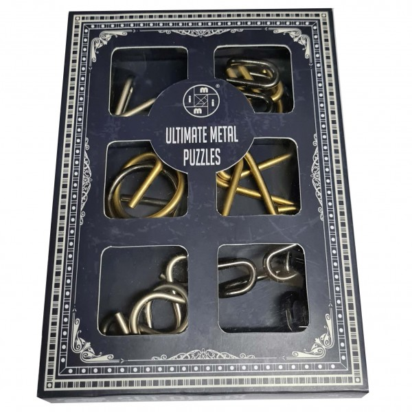 Ultimate Metal Puzzles: Set of Six