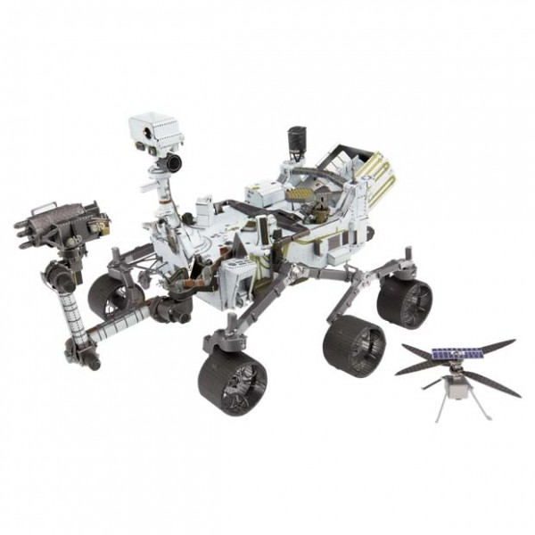 Metal Earth: Mars Rover Perseverance & Ingenuity Helicopter