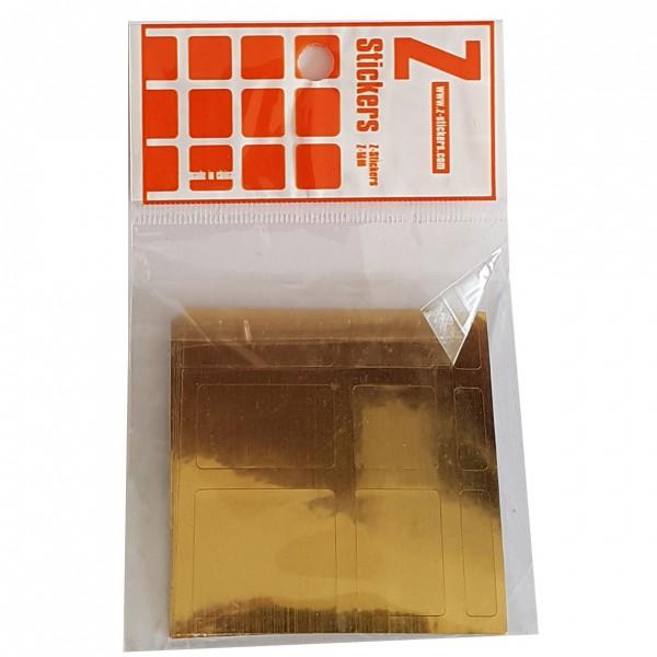Z-Stickers für ShengShou Mirror Cube Gold