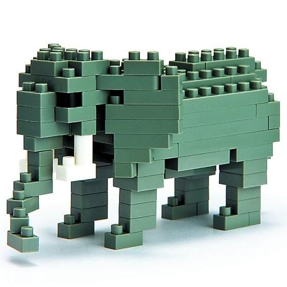 Nanoblock: Afrikanischer Elefant