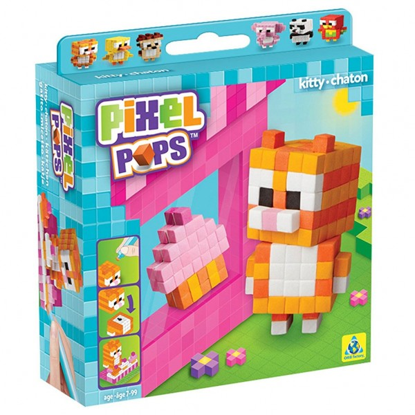 Pixel Pops: Kitten