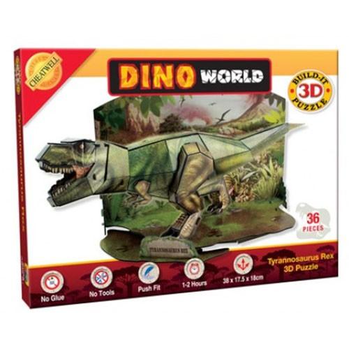 Cheatwell Build-It 3D: T-Rex