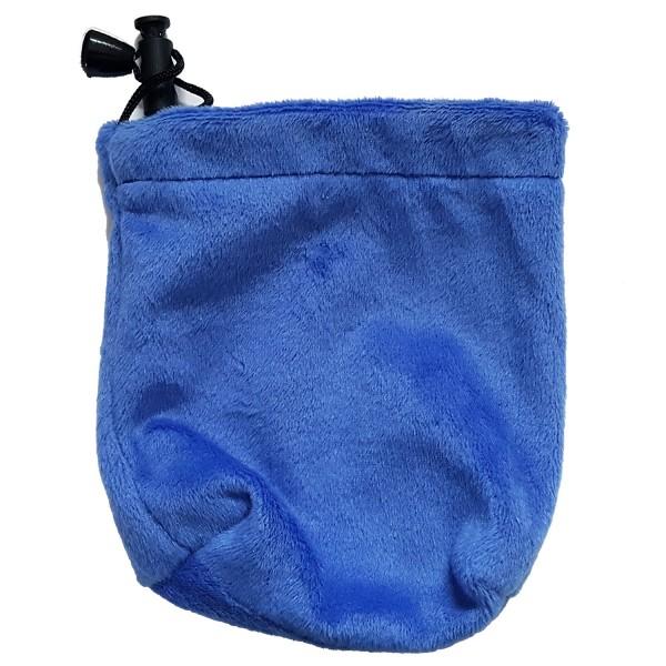 Soft Velvet Bag Blau