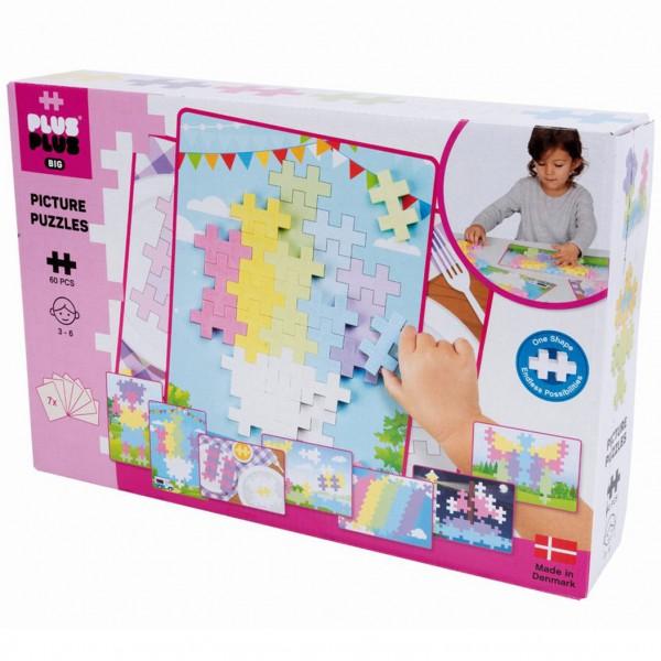 Plus-Plus Big Pastel: Puzzle Picture - 60 Bausteine