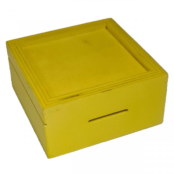 Trickspardose Gelb