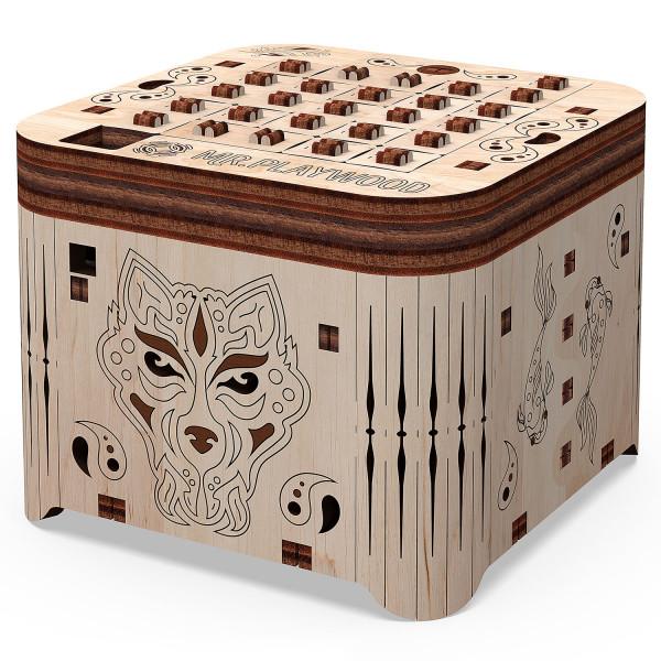 Mr. Playwood: Secret Box - Secret of Tiger