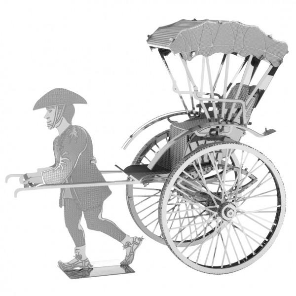 Metal Earth: Japanese Rickshaw