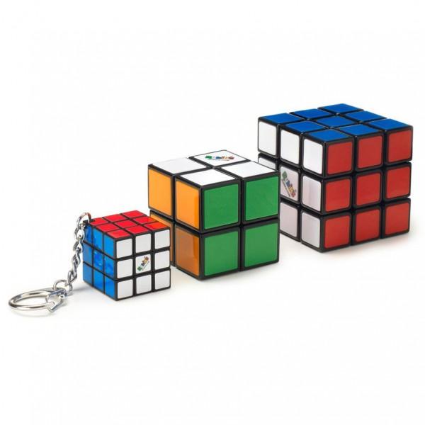Rubik's Family Bundle (2x2, 3x3 und Schlüsselanhänger)