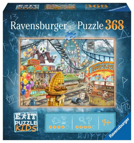 Exit Puzzle Kinder: Im Freizeitpark (368 Teile)