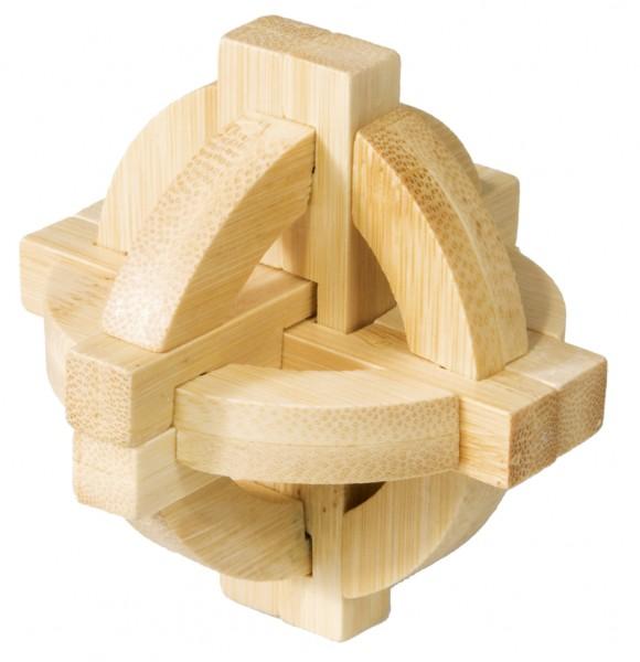 """Bambuspuzzle """"Doppelte Scheibe"""""""