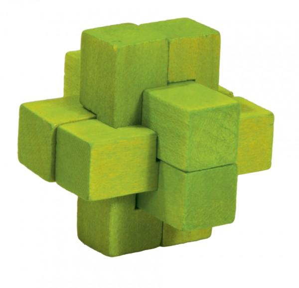 """Holzpuzzle """"Kreuz - grün"""""""