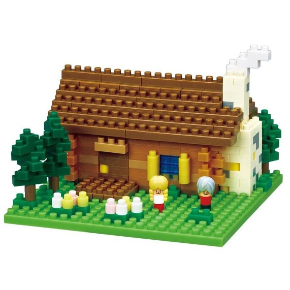 Nanoblock: Swiss Log Cabin