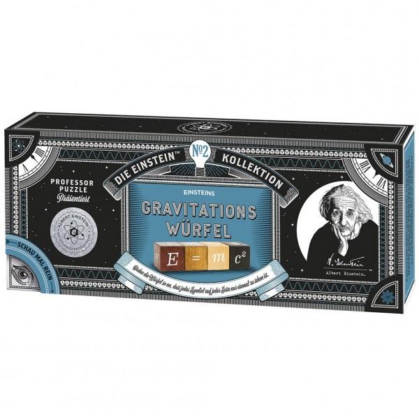 Professor Puzzle Einsteins Gravitationswürfel