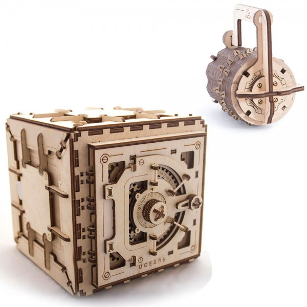 Ugears Security Spar-Set (Safe + Combination Lock)