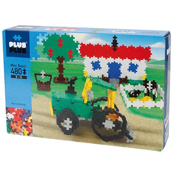 Plus-Plus Mini Basic: Farm - 480 Bausteine